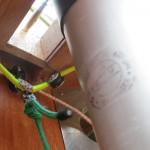 Stempel am Mast