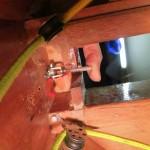 Haltelager unter Deck - echt Fummelkram